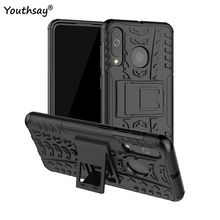 For Samsung Galaxy A60 Case Heavy Duty Hard Rubber Silicone Phone Cover for