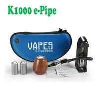 Classice Kamry Vape E tubulação K1000 Cigarro Eletrônico Série Set Old-Fashioned Tubulação de Fumo Do Cachimbo de Água eletrônico Starter Kits