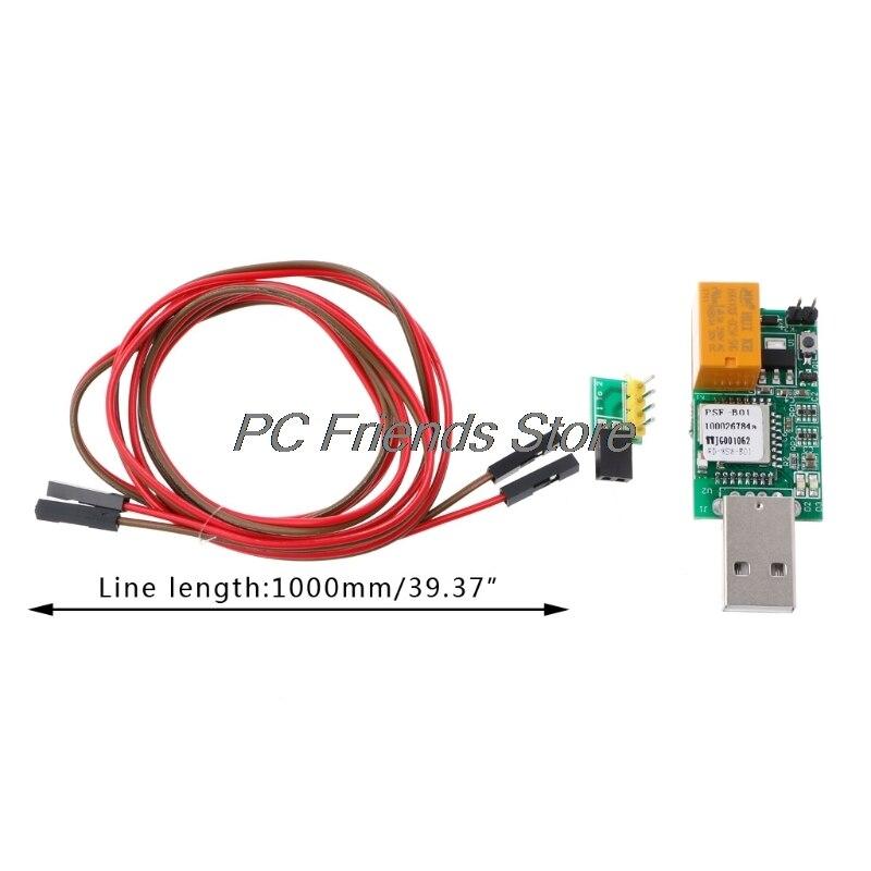 USB Watchdog WIFI APP Remote Control Restart Blue Screen Game Server BTC Miner-PC Friend ...