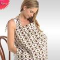 2016 Venta Cubierta de La Lactancia Materna para Bebes Lactantes Toalla Conejo Ángel Mamá Fuera Cubierta de Algodón Buru Yi Multifunción Lactantes