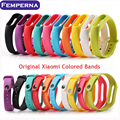 New Arrival Silicone Wrist Strap Bracelet Replacement Strap for Xiaomi Mi Band 2 MiBand 2 OLED Display Wristbands Colorful
