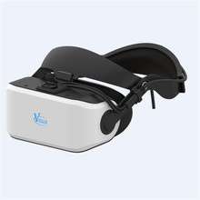 VIULUX V8 3D Glasses Heads VR Helmet Game Movie PC connected Virtual Reality Headset 3D VR Headset For Play 3D Games Video