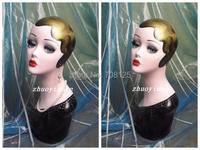 2014 New Vintage Dipinto A Mano Testa Trucco Mannequin Display