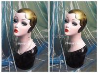 2014 New Vintage Hand Painted Makeup Mannequin Head Display
