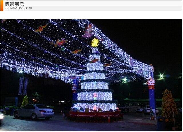 Illuminazione Esterna Lanterna : Decorazione di natale giardino illuminazione luci solari a led per
