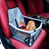 Car Accessories Pet Dog Mat Carrier Car Carrying Hanger Seat Pad Safe Carry House Cat Puppy Bag Car Travel Basket Dog Bag Basket