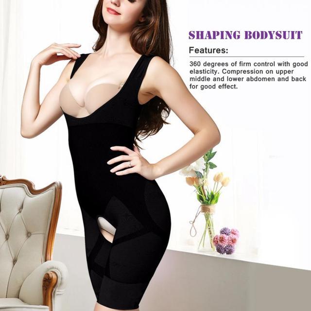 7083e12c363ab Women Shapewear Lift Rear Slim Tummy Control Shapewear Bamboo Fiber  Seamless Bodysuit Girdles Body Shaper Postpartum