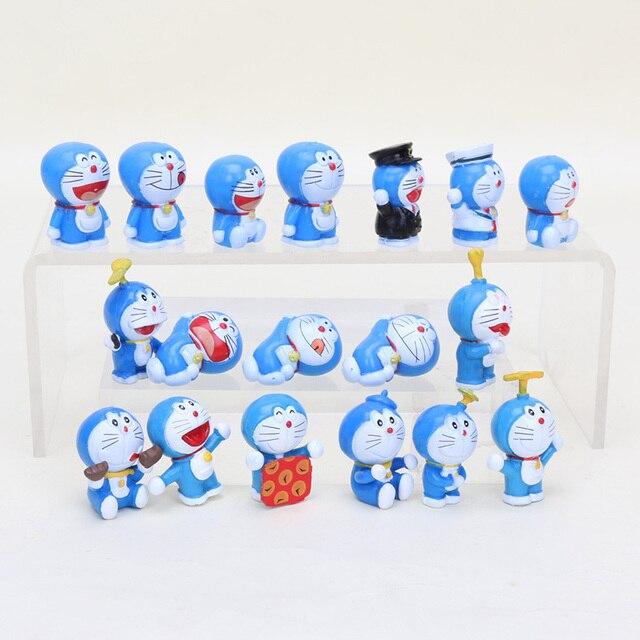 3 Cm Anime Dibujos Animados Muñecas Kawaii Doraemon Juguetes Mini