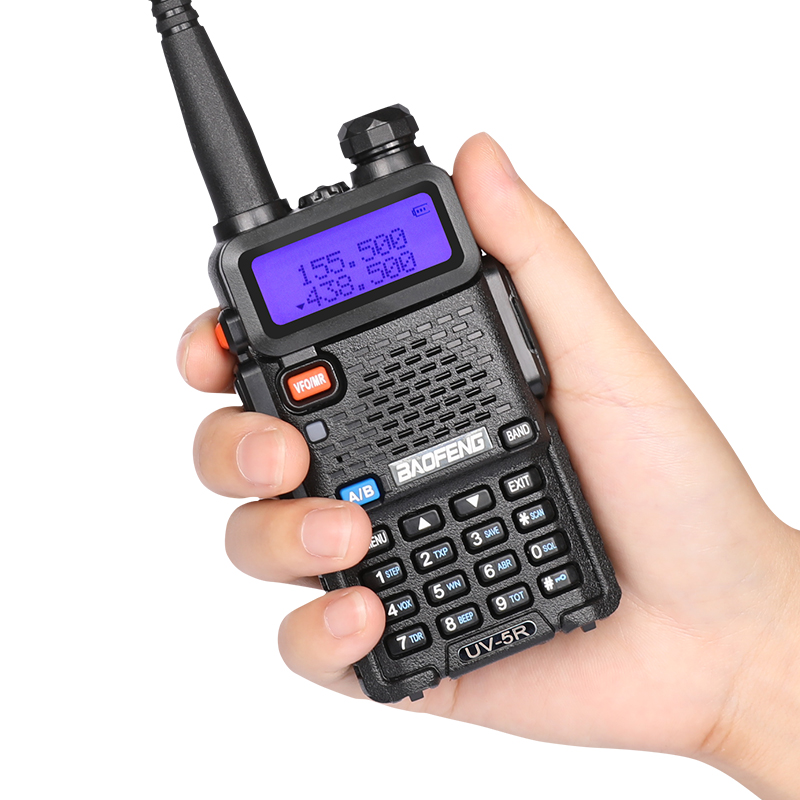 (2st) Baofeng uv5r Walkie Talkie UV-5r Dual Band Handhållen 5W - Walkie talkie - Foto 3