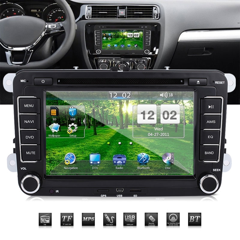 Vehemo 7 дюймов система навигации транспортного средства Электроника автомобильный навигатор карта gps навигатор для портативных DVD датчиков для фотографии для VW