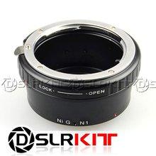 Para Nikon AF-S T AI F de Nikon 1 J1 V1 Adaptador de Montaje
