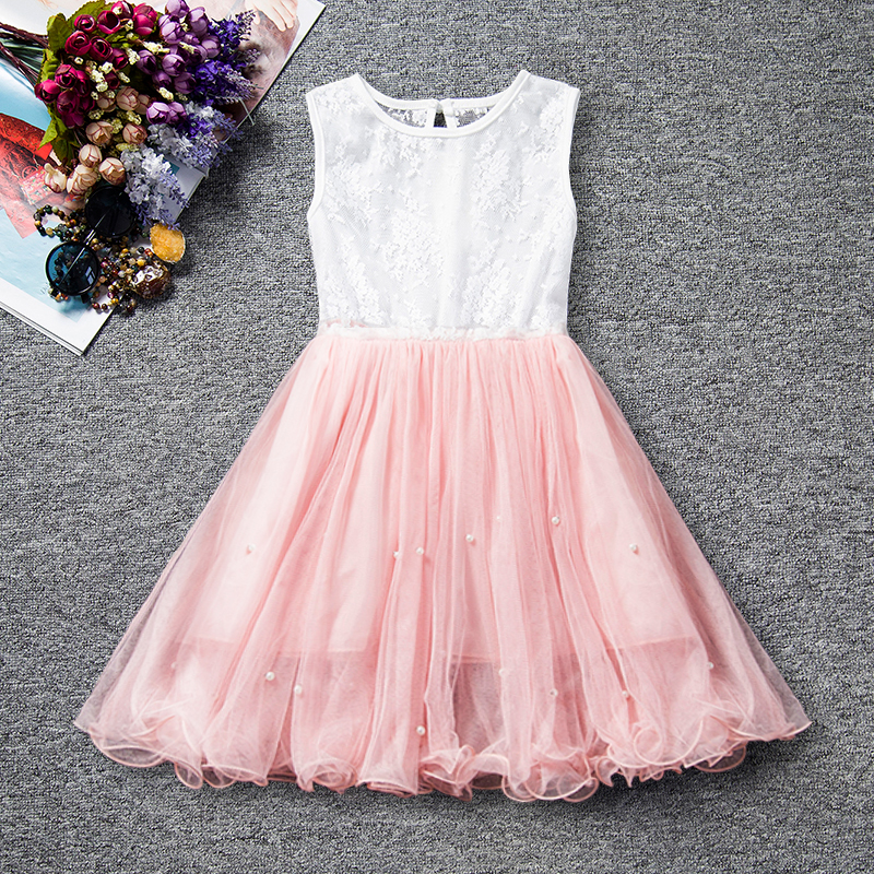 Lace Baby Girl Dress 2018 Fashion Baby Flower Princess Girl Summer Clothes Toddler Baby Girls Children Costume Wedding Kids Wear