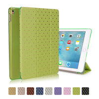 Mini 4 Tablet PC Ultra Slim Magnetic Smart Stars Leather Case With Matte Back Case For