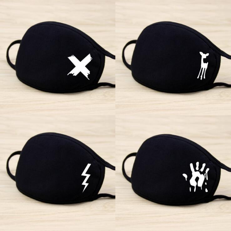 Women's Accessories Cotton Pm2.5 Mouth Mask Unisex 8 Styles Men And Women New Cotton Fashion Black Riding Dust Cold Thickening Mouth Mask A12d15 Apparel Accessories