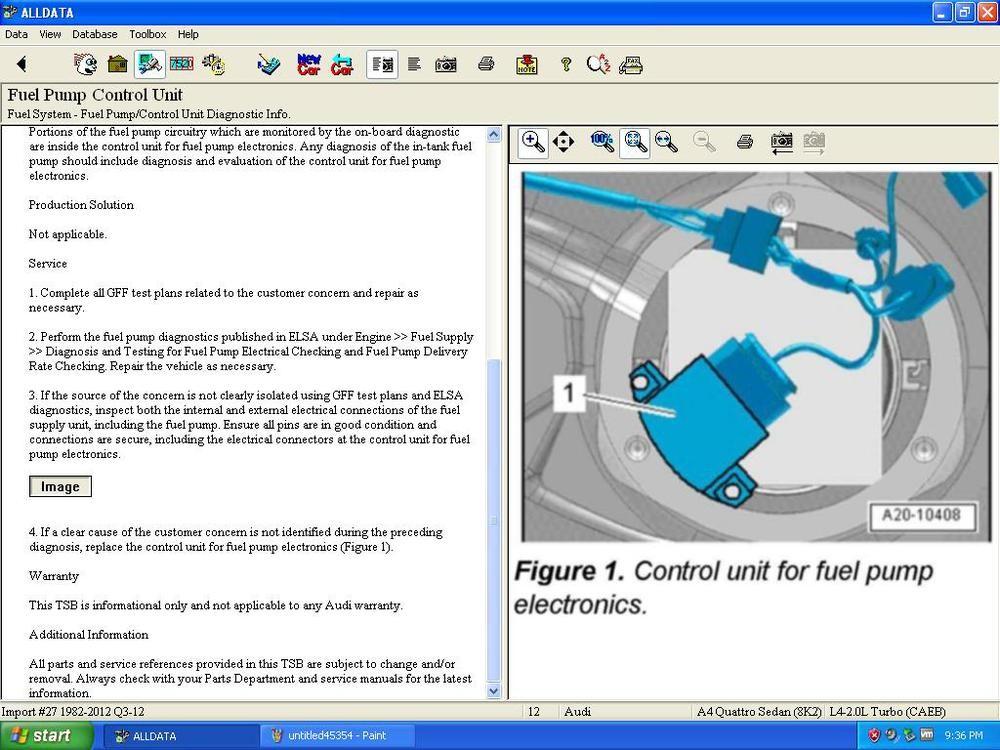 auto repair manual database