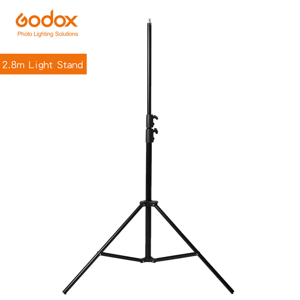 Godox 280cm 2.8m 9FT Pro Heavy Duty Light Stand for Fresnel Tungsten Light TV Station Studio Photo Studio Tripods(China)