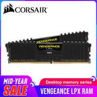 CORSAIR Vengeance LPX 8GB 16GB DDR4 PC4 2400Mhz 3000Mhz 3200Mhz Module 2400 3000 PC Cmputer ram de bureau mémoire 16GB 32GB DIMM