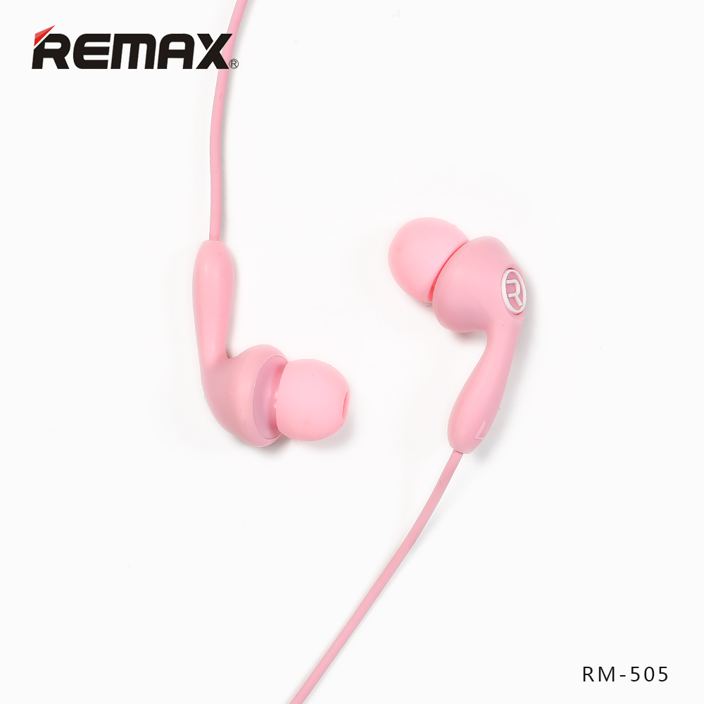 REMAX Colorful Colors Wired In-Ear Earphone High fidelit Unit Headset Silica Gel Smoothly Earbuds with Mic for phone/mp3 remax rm502 wired clear stereo earphones with hd microphone angle in ear earphone noise isolating earhuds for mp3 iphone xiaomi
