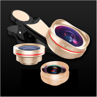 TOKOHANSUN 4 In 1 Mobile Phone Camera Lens Kit Fish Eye +0.6X Wide Angle 15X Macro Lens and 2X Telephoto Zoom Lens for IPhone 6s