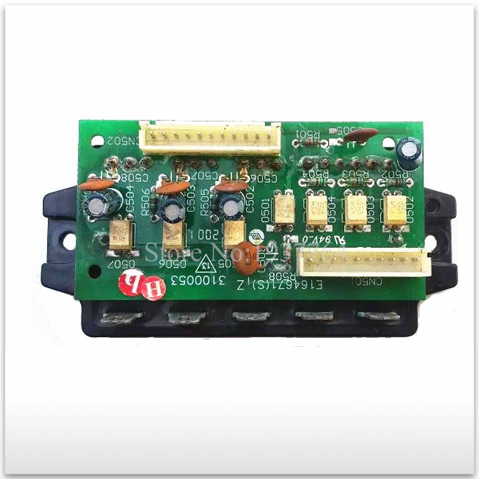 second-hand for Variable frequency air conditioning module board PM30CTJ060-3 E164671 001A310005 gold second