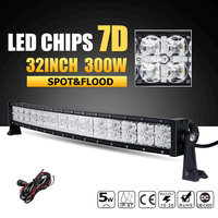 Cree chips 7d led light bar shop cheap cree chips 7d led light oslamp 7d 32 300w curved led light bar offroad led bar combo led work lamp mozeypictures Image collections