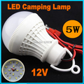 led camping lamp DC12V 3W5W7W9W12W 5730SMD LED Light Bulb,night fishing light,Battery lamp Warm white led hanging light lamp