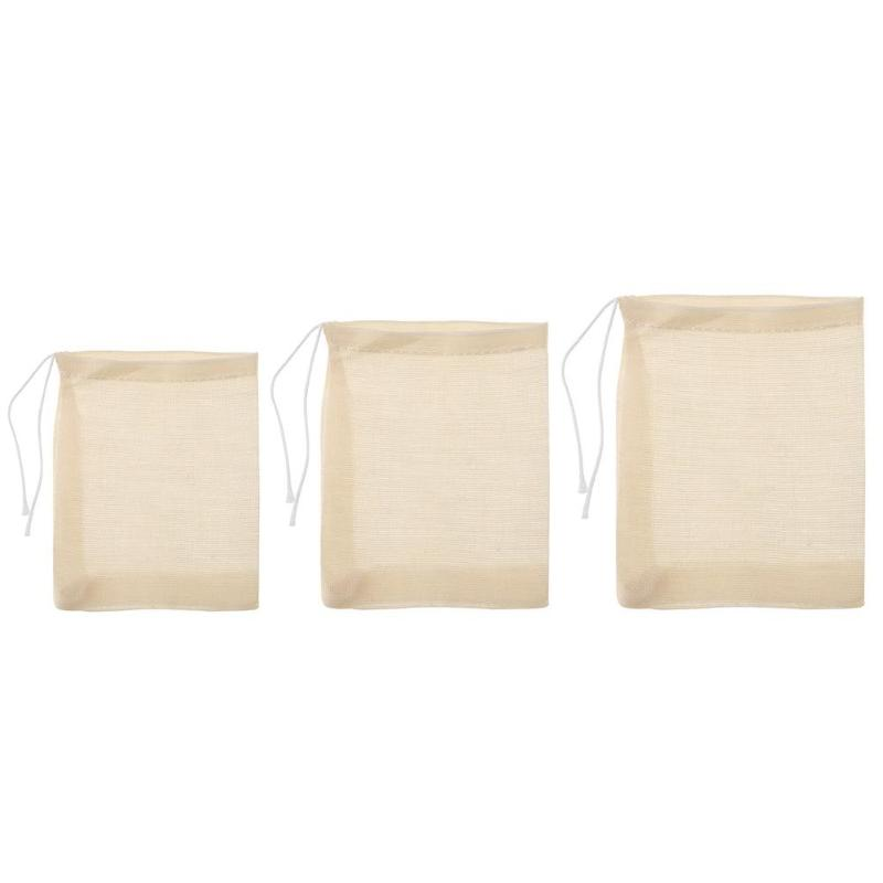 20pcs Lot Empty Tea Bags With String Filter For Herb Loose Soup Flavoring Cooking Scented Teabags Bolsas De Te