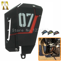 For Yamaha MT07 MT 07 2013 2014 2015 Motorcycle Radiator Side Protective Cover Grill Guard Red
