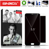 5.5Sinbeda HD For MEIZU MX5 LCD Display Touch Screen with Frame Digitizer Assembly For MEIZU MX5 Display M575M M575U M575H LCD@