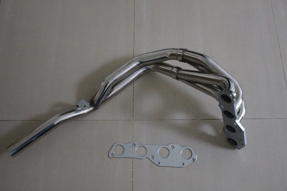 Stainless Steel EXHAUST Header FOR FIT VW FIT POLO FIT 86C 1.0 1.3 incl. FIT G40 manifold удочка зимняя trout pro ql 201
