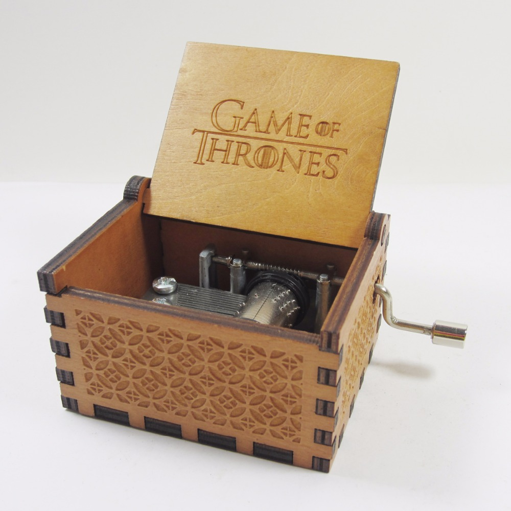 game of thrones gifts antique carved wooden of thrones box 29576