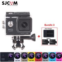 100 Original Sjcam SJ4000 30M Waterproof Mini Outdoor Sports Action Camera Sj 4000 Cam DVR Extra
