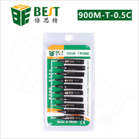 Ücretsiz Kargo Kurşun Lehimleme Lehim Demir İpuçları Kaynak Araçları 900M T 0.5C Hakko 936 için|tool tool|tools fortools for soldering -