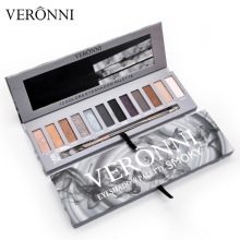 VERONNI Brand Matte Eye Shadow Palette Ultimate Basics Make up Eyeshadow 12 Color NK Smoky eye shadow Comestic