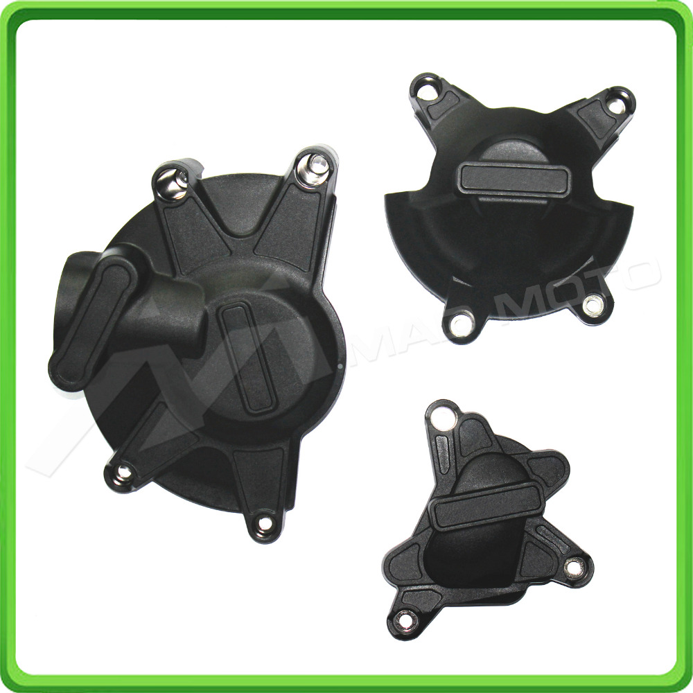 Motorcycles Engine Case Cover Slider / Protector Set For Yamaha YZF1000 R1 YZF-R1 2009 2010 2011 2012 2013 2014 motorcycles black aluminum chain guard cover shiled for 2006 2007 2008 2009 2010 2011 2012 2013 2014 2015 yamaha yzf r6