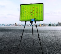 Hot!Football Tactical Board with holder carry bag Professional Sports coaching board great big Soccer coach plate 45*60CM