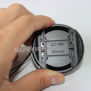 2017 New Universal 52mm Lens Cap Safety Cord Keepers for SLR Camera Lens Protector Cover Leash Lens Cap Holder image