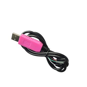 CP2102 transferu USB portu szeregowego linii TTL moduł do 232 szczotka linii linii micro 5P dupont linii 4P tanie i dobre opinie SINGLIAN CN (pochodzenie) Nowy Regulator napięcia CP2102 download line Komputer