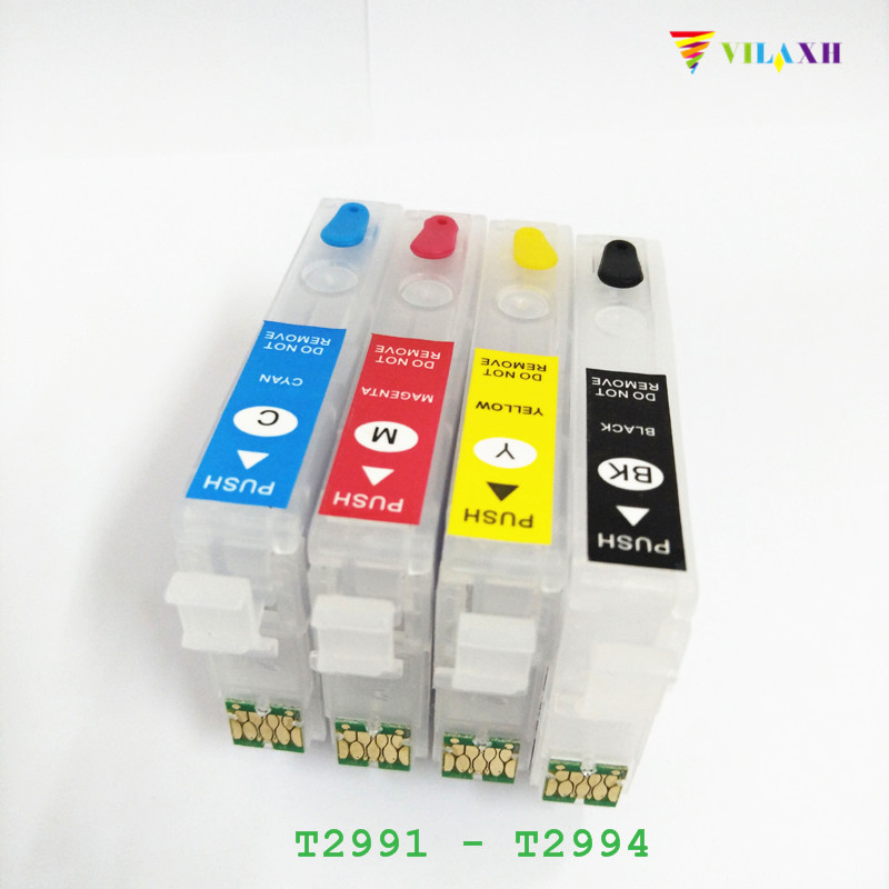 T2991 29XL Refillable Ink Cartridge ARC Chip For Epson - T2994 Expression home XP-432 XP-235 XP-332 XP-335 XP-435 Printer