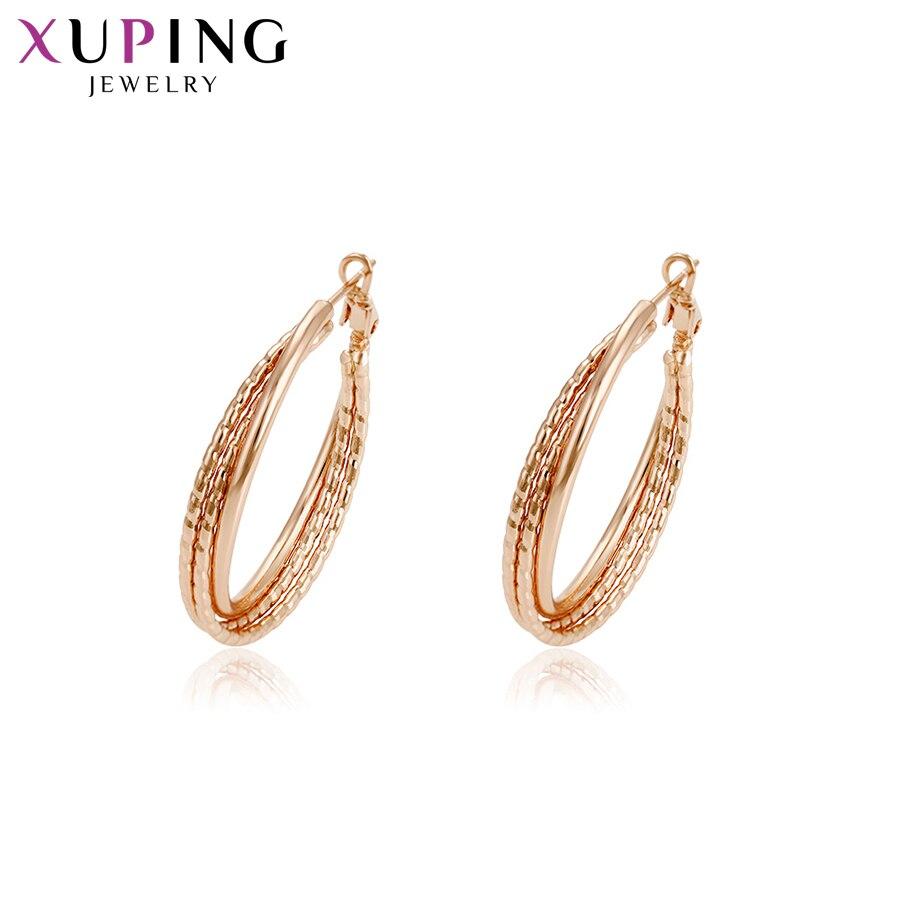 11,11 сделок Xuping модные элегантные серьги окружающей Медь для Для женщин Рождество Jewelry подарки S78, 8-94634