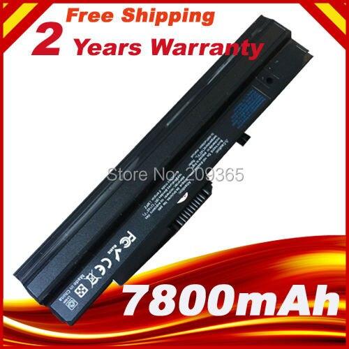 7800 mAh batería para MSI BTY-S11 BTY-S12 viento U100 L1300 L1350 L1350D U100X U100W U135DX U210 U270 U90X Wind12 U200 u210 U230