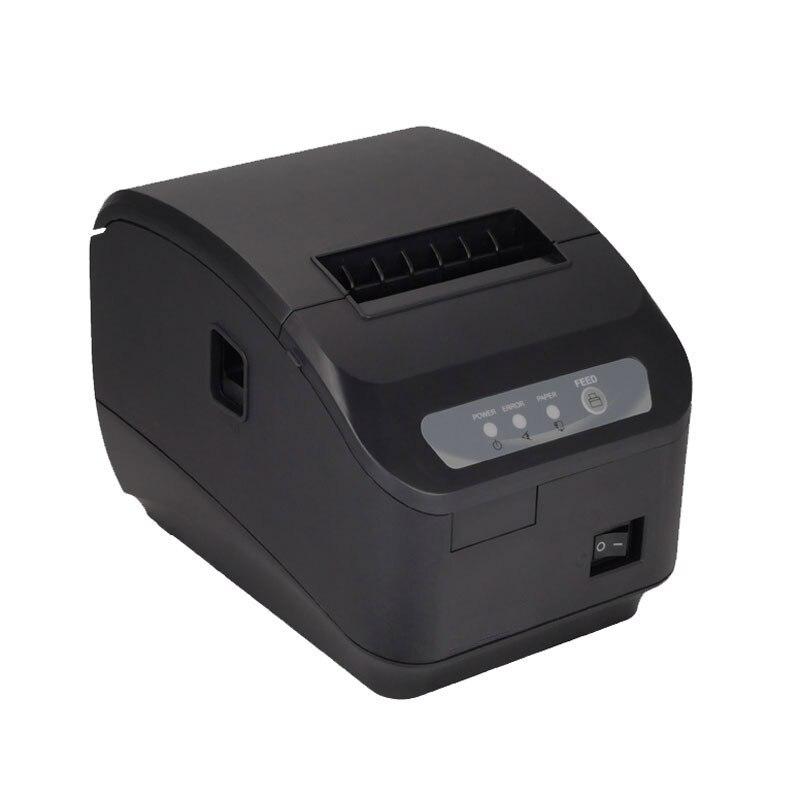 """מדפסת קופה קבלת מדפסת תרמית באיכות גבוהה 80 מ""""מ חיתוך אוטומטי USB + יציאה טורית/יציאות Ethernet 200 מ""""מ\שנייה"""