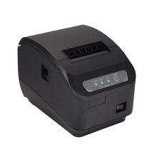 80mm impresora térmica de recibos pos impresora de Alta calidad de corte automático USB + Serial port/Ethernet puertos 200 mm/s