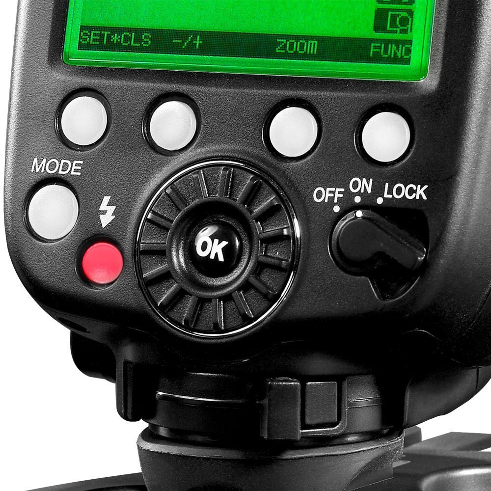 INSEESI Standard X800C X800N X800S GN60 Bezdrátový TTL HSS Flsh - Videokamery a fotoaparáty - Fotografie 4