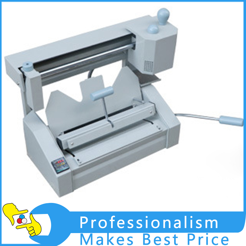 Wireless Glue Book Binding Machine A4 Paper Binding Hot Glue Binder Office Machine  220V Only only a promise