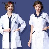 New Arrival Summer Women Hospital Medical Laundry Clothes Set Design Slim Teeth Scrubs Beauty Salon Nurse Uniforms Spa Work Wear