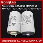 [BELLA] [Original authentic] Arcotronics 1.27.6CC3 MKP 2.5uf 4UF 8UF 16UF 20UF 25UF 30UF 50UF 5% of the motor start capacitors