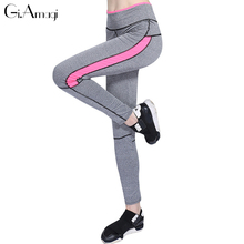 Hot Sales 2016 fitness women tights push-up elastic sporrt pants slim fit women outwear trousers pants