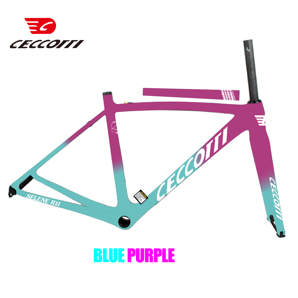 2019 Taiwan T800 Or T1000 Full Carbon Road Racing Carbon Bike Bicycle Frame Light Weight 40CM 765G Free