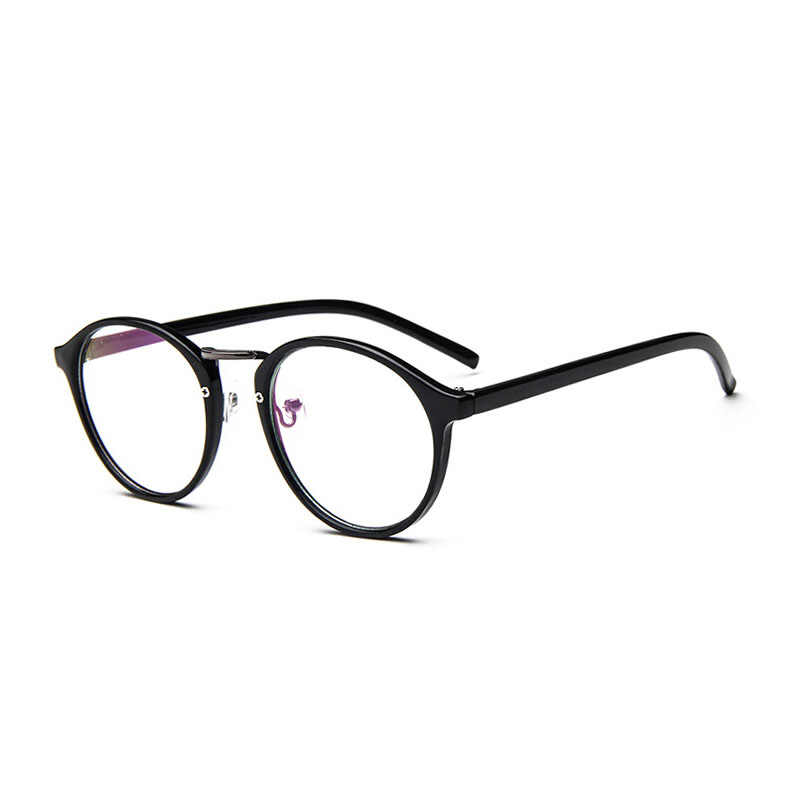290d01cf90c ... 2019 Fashion Transparent Round Glasses Clear Frame Women Spectacle  Myopia Glasses Men EyeGlasses Frame nerd Optical ...